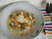 Kalafiorowa zupa z fasolką