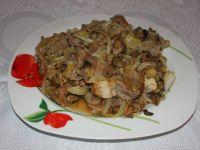 Karkówka w sosie cebulowo-grzybowym