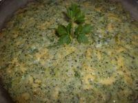 Kasza jęczmienna zapiekana z brokułem