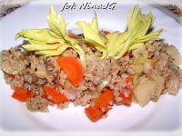 Kaszotto z warzywami z odzysku