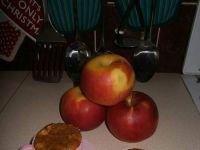 Kawowe muffiny z jabłkiem