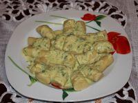 Kopytka  w sosie serowym
