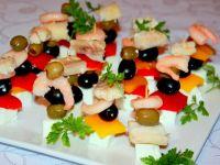 Koreczki rybno-warzywne