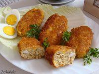 Kotleciki rybne z jajkiem