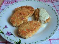 Kotleciki z brązowego ryżu i warzyw