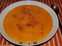 Krem marchwiowo- pomarańczowy z imbirem i cynamone