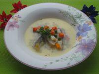 Kremowa zupa z karpia