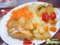Królki z warzywami.