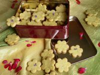 Kruche ciasteczka z cytrynowo miętową nutą