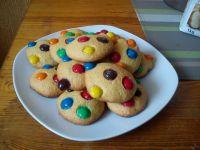 Kruche ciasteczka z m&s
