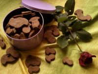 Kruche kakaowe grzybki