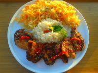Kurczak 5 smaków z miodem