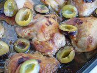 Kurczak pieczony z węgierkami