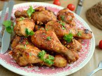 Kurczak w orzechowej glazurze