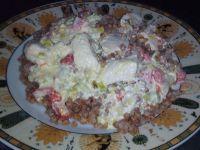 Kurczak w sosie jogurtowym z kasza gryczaną