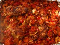 Kurczak z czerwonym akcentem