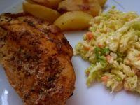 Kurczak ziołowy z rękawa