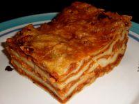 Lasagne z mięsem mielonym