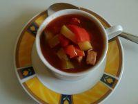 Leczo z pomidorami i cukinią