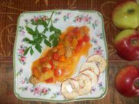 Leczo z pulpetami  i suszonymi jabłkami