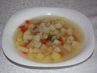 Lekka zupa kalarepowa