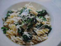 Makaron z brokułami i serem mascarpone