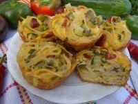Makaronowe muffinki