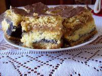 Makowo- serowe ciasto
