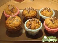 Marchewkowe muffiny z posypką