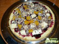 Masa owocowo-waflowa  do tortów.