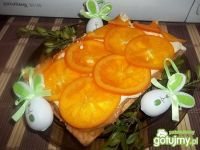 Mazurek z pomarańczami 3