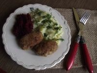 Mięsne wałeczki z camembertem z zielonym pieprzem