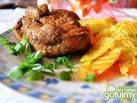 Mięso indycze pieczone w rękawie