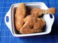 Mięso z kurczaka w pikantnej panierce
