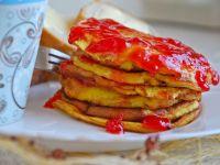 Mini omlety z dżemem