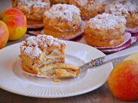 Mini torciki serowo-jabłkowe