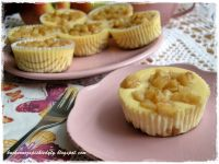 Mini serniczki z karmelizowanym jabłkiem