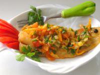 Mintaj na warzywno-pomidorowym sosie