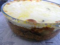 Moussaka z ziemniakami