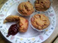 Muffinki na słono z pomidorami