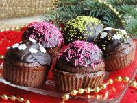 Muffinki piernikowe z powidłami