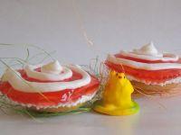 Muffinkowe serniczki z galaretką