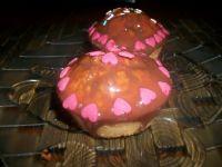 Muffiny cytrynowe z polewą czekoladową wg Zub3r'a