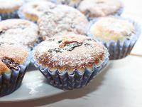 Muffiny cytrynowe z rodzynkami