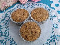 Muffiny owsiane z rodzynkami