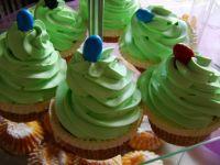 Muffiny z zieloną czapą
