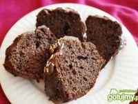 Murzynek w polewie czekoladowej