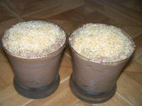 Mus czekoladowy z kokosem