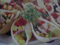 Muszelki z sałatką