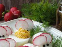 Myszki - jajka faszerowane anchois